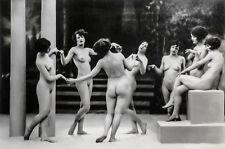 Albert Arthur Allen Photo, Female Figures Dancing, Group Choreography 1920s