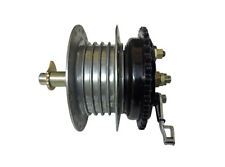 Royal Enfield Complete Rear Wheel Hub With Brake System and Bearings & Axle