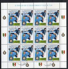 2010 Italia Repubblica Minifogli Inter Campione d'Italia Calcio usata