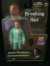 Mezco Toyz Breaking Bad Jesse Pinkman In Blue Hazmat Suit 6-Inch Action Figure