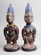 EXCEPTIONNEL Mâle/Femelle Paire Ibeji Efon/Erin tribu Yoruba Nigeria