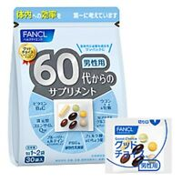 FANCL Supplement men from the 60s 30 bags  Free Shipping