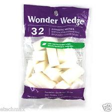 Wonder Wedge Cosmetic Wedge Make Up Sponges (32 ct) Latex Free reuseable