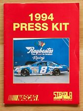 1994 Jeff Burton Raybestos Stravola Brothers Racing NASCAR Media Guide Press Kit