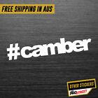 CAMBER JDM CAR STICKER DECAL Drift Turbo Euro Fast Vinyl #0066
