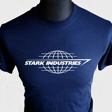 Stark Industries T Shirt Iron Man Tony Avengers Assemble Cool Bd Livre Héros Bu