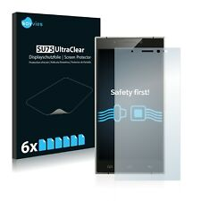 6x Savvies Screen Protector for Doogee F5 Ultra Clear