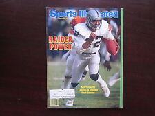 Marcus Allen L A Raiders Sports Illustrated Magazine SI 12/16/85 Very Good Con