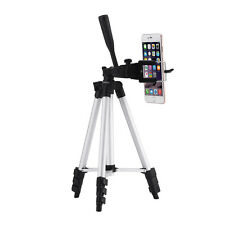 Professional Camera Tripod + Smartphone Stand Holder + Carrying Bag For Phone