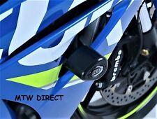 R&G PAIR CRASH PROTECTORS  FITS Suzuki GSX-R1000R (2018) Non-Drill Kit