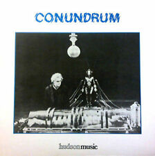 JOHN HYDE CONUNDRUM HUDSON LIBRARY LP 1984 SPACE ASTRAL SOUNDS SYNTH FUNK LISTEN