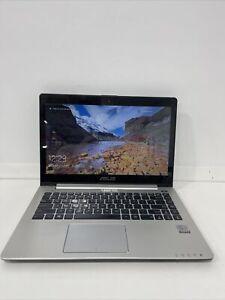 ASUS S400C Touchscreen i5-3317U CPU 8GB RAM 500GB HDDWebcam WIFI Win 10Home T53