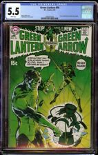 Green Lantern  # 76 CGC 5.5 White (DC, 1970) Classic Neal Adams cover