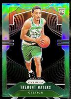 Tremont Waters 2019-20 Panini Prizm Green Prizm Rookie RC #286 Boston Celtics