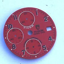 TUDOR CHRONOGRAPH PRINCE DATE TIGER RED DIAL FOR Ref. 79260 79270 79280 79260P