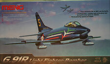 aereo italiano G.91 light fighter-bomber  - kit aerei Meng 1/72