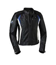 BMW Corsa Motociclista Pelle Giacca Uomo Motociclo Corsa Cuoio Giacca EU 46-60