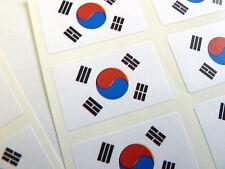 Mini Sticker Pack, Self-Adhesive South Korea Flag Labels, FR158