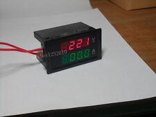 AC100-300V 0-200A Digital LED DISPLAY PANEL VOLT/AMP Meter With 200A Split CT