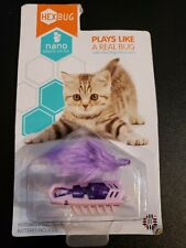 New listing New Hexbug Nano Robotic Cat Toy ~ Plays Like a Real Bug ~ Purple
