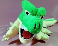 "HTF Dragon Quest GREEN DRAGON 9"" Plush Doll Figure Square Enix 2005 Japan Import"