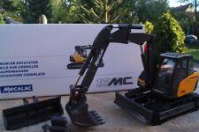 Conrad mecalac 15mwr à chenilles excavatrice avec Bras d'appui et pages décalage Outrigger