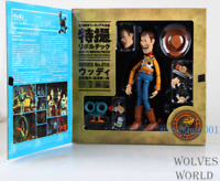 "6"" Toy Story Woody Figure Kaiyodo Sci-Fi Revoltech Collectible Toy Gift In Box"