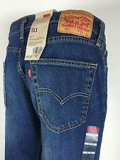 Style# 511-1163 Men's Levi's SIZE 34 X 32 Throttle Blue Slim Fit Jeans