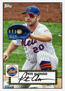 2021 Topps MLB Digital NFT 1952 REDUX Pete Alonso 173/600 Event Exclusive