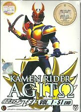 KAMEN RIDER AGITO - COMPLETE TV SERIES DVD BOX SET (1-51 EPS)