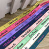 3/8'' (10mm) Mix Color printed Handmade ribbon colored romantic ribbon gift wrap
