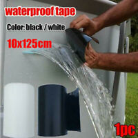 Super Strong Waterproof Tape White Stop Leaks Seal Repair Performance Self Flex