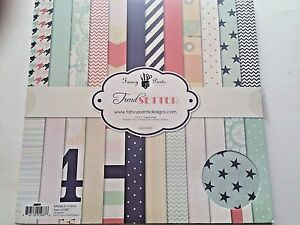 FANCY PANTS TRENDSETTER 12X12 PAPER PAD