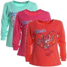 Mädchen-Tops, - T-Shirts & -Blusen mit klassischem Ausschnitt und Motiv