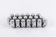 10 - 12MMX1.5 OPEN END BULGE ACORN GM CHEVY LUG NUTS LUGS SET MAG WHEEL WHEELS