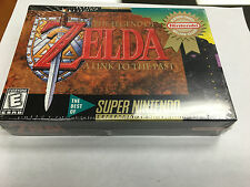 LEGEND OF ZELDA A LINK TO THE PAST SUPER NINTENDO SNES BRAND NEW FACTORY SEALED