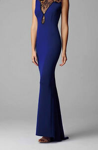 New Alberto Makali Cobalt blue evening dress M  RRP $499