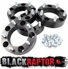 Black Raptor 50mm Aluminium Land Rover Discovery 1 Wheel Spacers