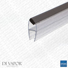 Di Vapor (R) Angled Magnetic Shower Door Replacement Seal | 4-6mm/8mm/10mm Glass