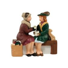"""Dept. 56 Christmas In The City ~ """"HOLIDAY COFFEE BREAK"""" ~ MIB ~ Cute Accessory!"""
