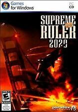 Supreme Ruler 2020: Gold (PC, 2009)