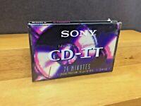 Sony CD-IT - High Bias Type II - 74 Minutes SEALED Blank Cassette