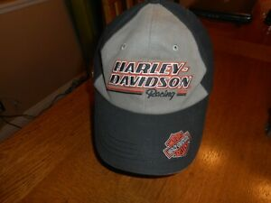 Vintage Men's Harley Davidson Racing Screamin' Eagle #1 Cotton Baseball Cap 2011