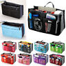 Handy Travel Insert Makeup Cosmetic Bag Handbag Large Storage Tidy Organizer Bag