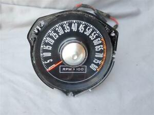 1968 Mustang Factory 8,000 RPM Tachometer C8ZF-17360-B 8K Tach RPM Gauge AWESOME