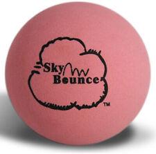 Sky Bounce Pink Rubber Hand Ball for Stickball/Racquetball Games - 1 Ball