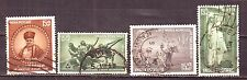 Indian-4 Diff. Used Good Condition Stamps Complete Year Pack of 1959 #IU59