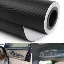 4D Car Interior Accessories Interior Panel Black Carbon Fiber Vinyl Wrap Sticker (Fits: Chrysler Cirrus)