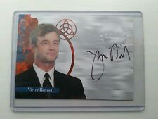 RARE CHARMED AUTOGRAPHED SIGNED TRADING CARD A16 JAMES READ AS VICTOR BENNETT