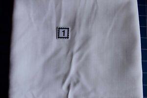Remnant Poly Viscose Suiting 1.40 x 148cm  - White Linen Texture R457